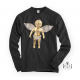 "RafaelloKings© ""GOLD ANGEL"" Full Graphic Long Sleeve Shirt"