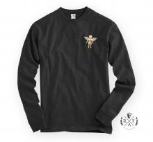 "RafaelloKings© ""GOLD ANGEL"" Graphic Long Sleeve Shirt"