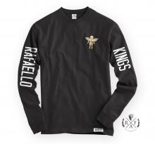 "RafaelloKings© ""GOLD ANGEL"" Graphic RF Long Sleeve Shirt"