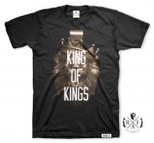 """RafaelloKings© """"KING OF KINGS"""" Graphic T-Shirt"""