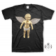 "RafaelloKings© ""GOLD ANGEL"" Full Graphic T-Shirt"