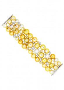 White & Yellow Bracelet