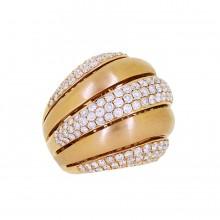 White Diamond Cocktail Ring