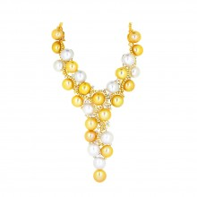 Yellow & White Necklace