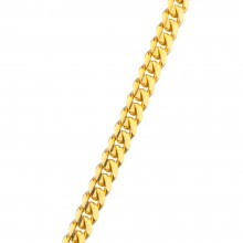3.5MM Solid Gold Miami Cuban Link Chain
