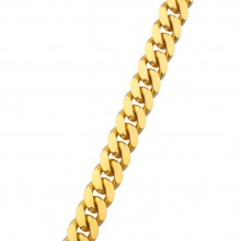 12.5 MM Solid Gold Miami Cuban Link Chain