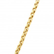 3.5MM Cable Chain Yellow 10K Gold 17.0 Gr