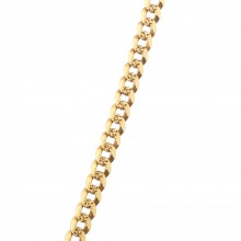 5.5MM Solid Gold Cuban Link Chain