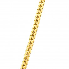 4MM Solid Gold Miami Cuban Link Chain