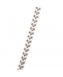 5MM Franco Chain White 14K Gold 93.3 Gr