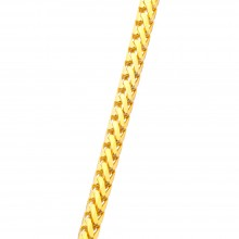 3MM Franco Gold Chain