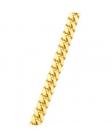 5MM Solid Gold Miami Cuban Link Chain