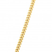 2.5MM Solid Gold Miami Cuban Link Chain