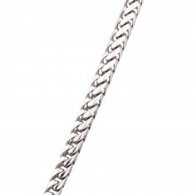 4.4MM Franco Chain White 14K Gold 118.3 Gr