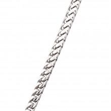 4.4MM Franco Chain White 14K Gold 118.3 Gr