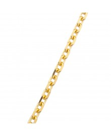 5.7MM Cable Chain Yellow 14K Gold 52.4 Gr