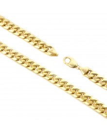 11MM Gold Miami Cuban Link Chain