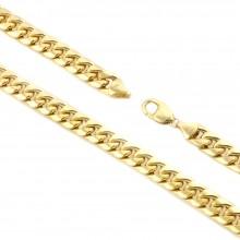 11MM Gold Miami Cuban Link Chain