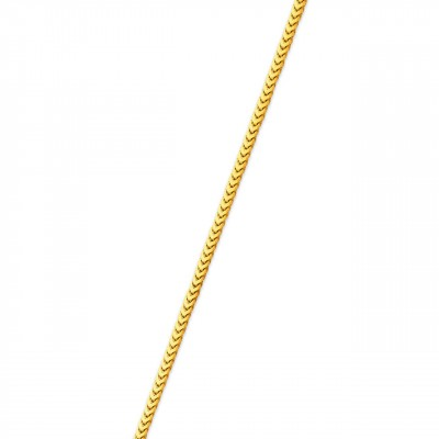 1MM Franco Chain Yellow 14K Gold