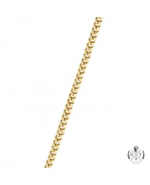 2MM Solid Gold Miami Cuban Link Chain