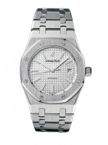 Audemars Piguet Royal Oak 39mm In Stainless Steel With Silver Dial