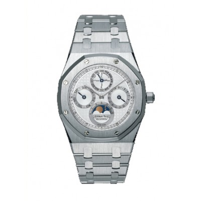 Audemars Piguet Royal Oak 39mm In Platinum With Silver Dial