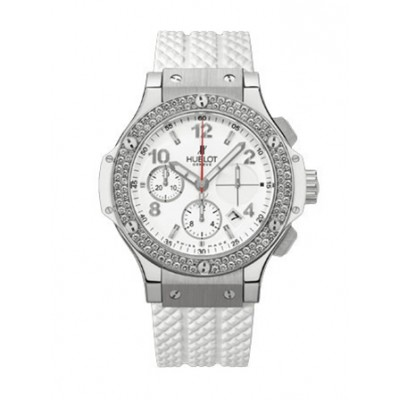 Hublot Big Bang 41mm Stainless Steel White