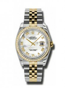 Rolex Datejust 36mm Steel and Gold