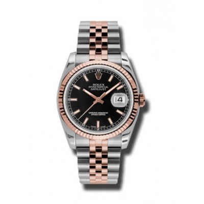 Rolex Datejust 36mm Steel and Rose Gold