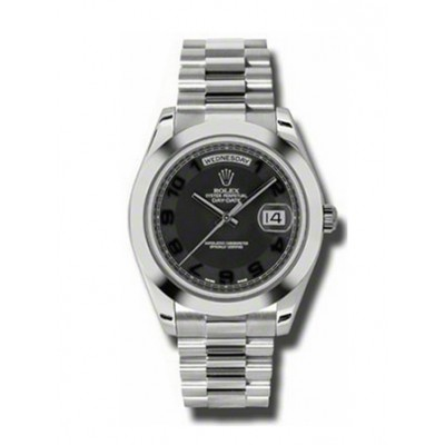 Rolex Day-Date II President Platinum - Polished Bezel