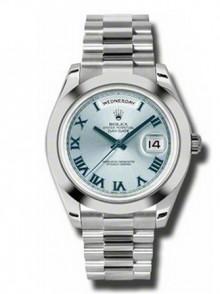 Rolex Day-Date II President Platinum - Polished Bezel