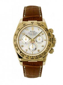 Rolex Daytona Brown Leather Strap