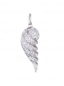 Wing Diamond Pendant Micro Pave'