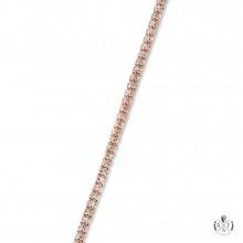 3mm Ice Chain Diamond Cut 14K Rose Gold