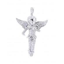 Gabriel's Angel Diamond Pendant In Micro Pave'