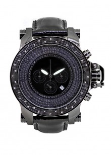 Rafaello & Co Tank Black Diamond Watch