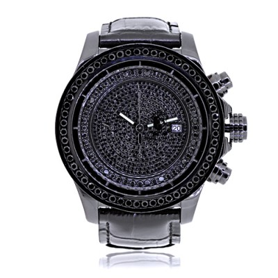 Rafaello & Co Eclipse XL Edition Black Diamond Watch