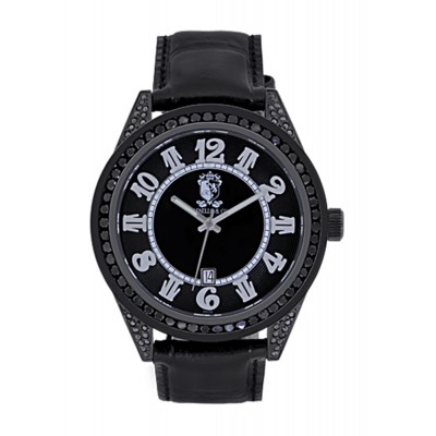 Rafaello & Co Eclipse Black Diamond Watch