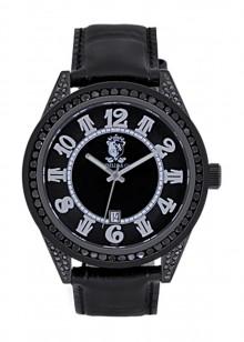 Rafaello & Co Eclipse Black Diamond Watch
