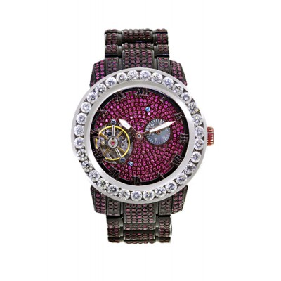 Rafaello & Co Scorpion White Diamond and Ruby Watch