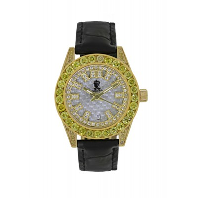 Rafaello & Co Eclipse Ladies Yellow Canary Diamond Watch