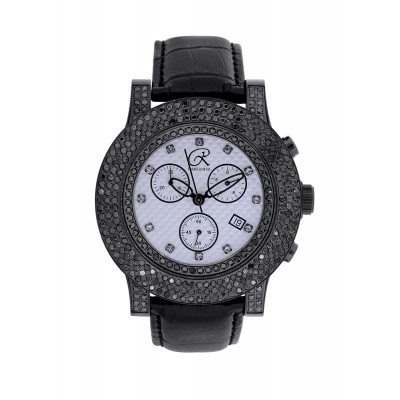Rafaello & Co Blackout Black Diamond Watch
