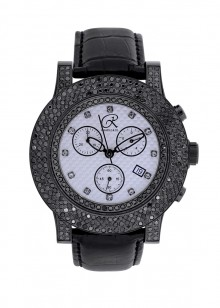 Rafaello & Co Blackout Black Diamond Watch