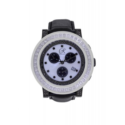 Rafaello & Co Blackout White Diamond Watch
