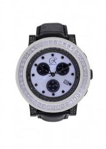 Rafaello & Co Blackout White Diamond Watch