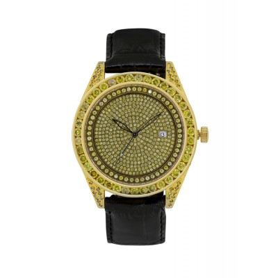 Rafaello & Co Eclipse Yellow Canary Diamond Watch