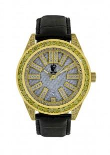 Rafaello & Co Eclipse Yellow White Diamond Watch