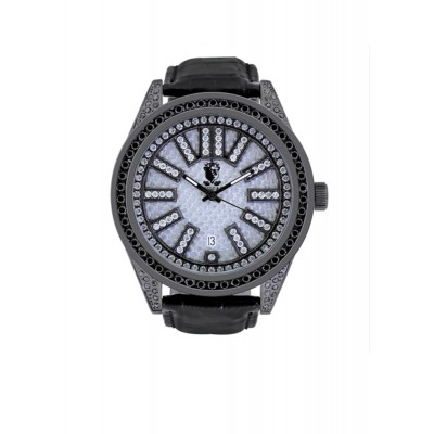 Rafaello & Co Eclipse Black White Diamond Watch
