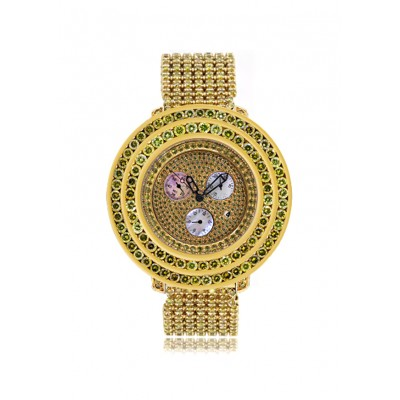 Rafaello & Co Royal Yellow Canary Diamond Watch