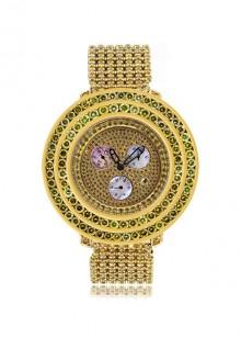 Rafaello & Co Royal Yellow Canary Diamond Watch